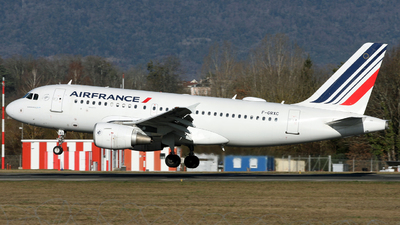 A picture of FGRXC - Airbus A319111 - Air France - © Claude Davet