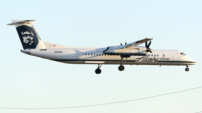 N412QX - Bombardier Dash 8-Q402 - Alaska Airlines (Horizon Air)