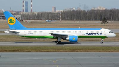 UK-75701 - Boeing 757-23P - Uzbekistan Airways