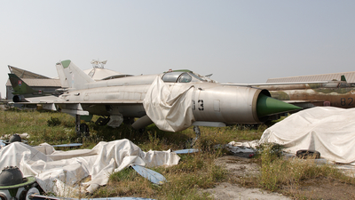 1703 - Mikoyan-Gurevich Mig-21 Fishbed - Slovakia - Air Force