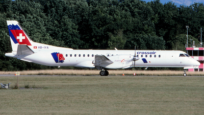 HB-IYA - Saab 2000 - Crossair Europe