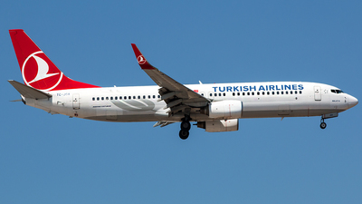 TC-JGA - Boeing 737-8F2 - Turkish Airlines