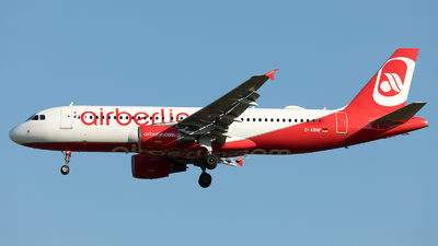 D-ABNF - Airbus A320-214 - Air Berlin