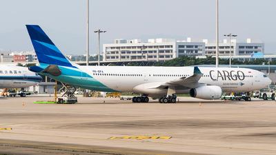 PK-GPA - Airbus A330-341 - Garuda Indonesia