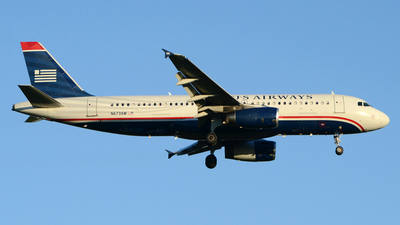 N673AW - Airbus A320-232 - US Airways