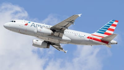 A picture of N826AW - Airbus A319132 - American Airlines - © Kamryn