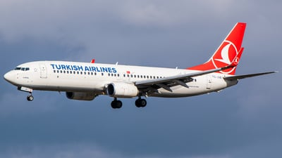 A picture of TCJVE - Boeing 7378F2 - Turkish Airlines - © Finnographie