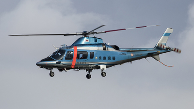 JA110H - Agusta A109E Power - Japan - Police