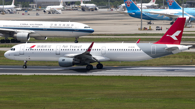 A picture of B8318 - Airbus A321211 - Air Travel - © yuanye