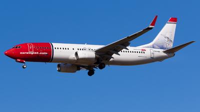 EI-FHP - Boeing 737-8JP - Norwegian