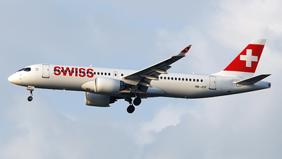 HB-JCF - Bombardier CSeries CS300 - Swiss