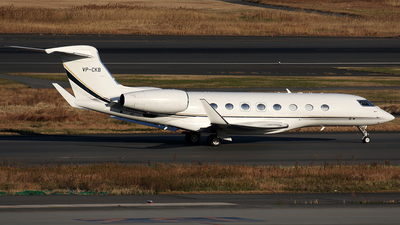 VP-CKB - Gulfstream G650 - Private
