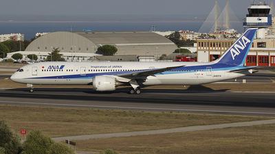 JA837A - Boeing 787-9 Dreamliner - All Nippon Airways (ANA)