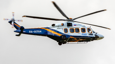 RA-01704 - Agusta-Westland AW-189 - Gazpromavia