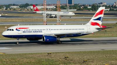 G-EUYN - Airbus A320-232 - British Airways