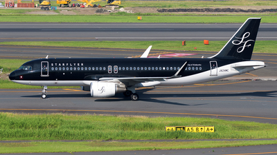 JA24MC - Airbus A320-214 - Starflyer