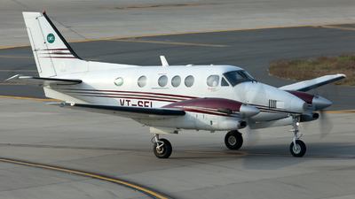 VT-SEL - Beechcraft C90GTi King Air - Private