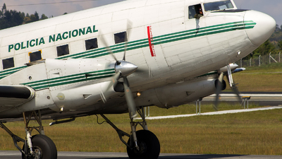 PNC-0258 - Basler BT-67 - Colombia - Police