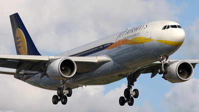 VT-JWL - Airbus A330-202 - Jet Airways