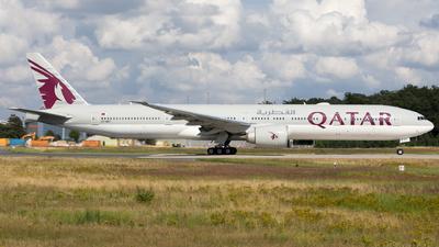A picture of A7BET - Boeing 7773DZ(ER) - Qatar Airways - © Sierra Aviation Photography
