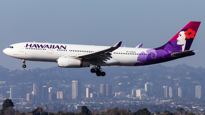 A picture of N391HA - Airbus A330243 - Hawaiian Airlines - © Brandon Giacomin