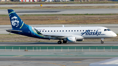 A picture of N170SY - Embraer E175LR - Alaska Airlines - © global_flyer1