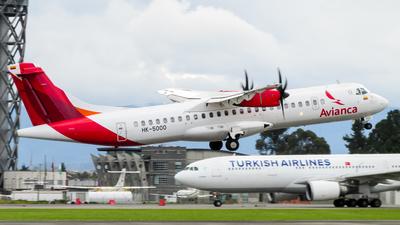 HK-5000 - ATR 72-212A(600) - Avianca