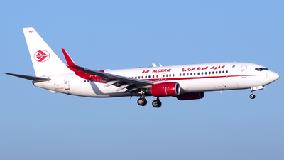 A picture of 7TVKH - Boeing 7378D6 - Air Algerie - © Baptiste Prevost