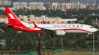 B-1260 - Boeing 737-8 MAX - Shanghai Airlines