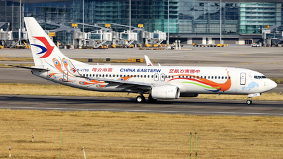 B-1790 - Boeing 737-89P - China Eastern Airlines