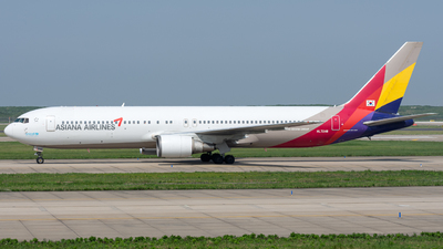 HL7248 - Boeing 767-38E - Asiana Airlines