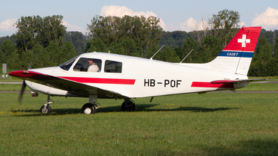 HB-POF - Piper PA-28-161 Cadet - Motorfluggruppe Fricktal