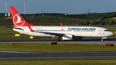 TC-JVH - Boeing 737-8F2 - Turkish Airlines