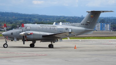 EJC1124 - Beechcraft 200 Super King Air - Colombia - Army