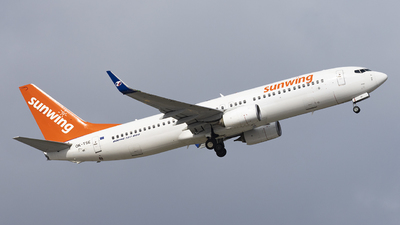 OK-TSE - Boeing 737-81D - Sunwing Airlines (SmartWings)