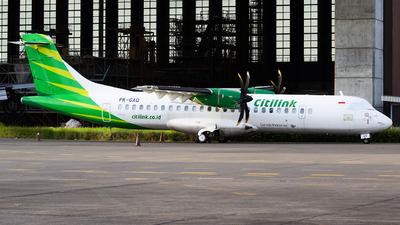 PK-GAD - ATR 72-212A(600) - Citilink