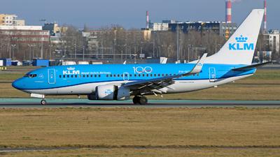A picture of PHBGH - Boeing 7377K2 - KLM - © Michal Raczynski