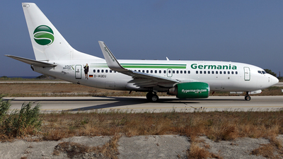 D-AGEU - Boeing 737-75B - Germania