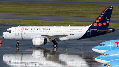 A picture of OOSSK - Airbus A319112 - Brussels Airlines - © Gaetan De Meyer