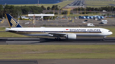 A picture of 9VSWW - Boeing 777312(ER) - Singapore Airlines - © MQ1131