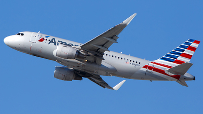 N9017P - Airbus A319-115 - American Airlines