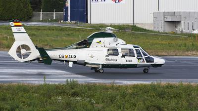 HU.30-03 - Eurocopter AS 365N3 Dauphin - Spain - Guardia Civil