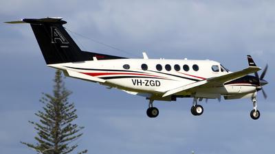 A picture of VHZGD - Beech B200 Super King Air - [BB1412] - © Danielle.L.