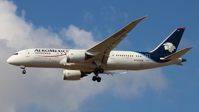 A picture of N782AM - Boeing 7878 Dreamliner - Aeromexico - © Siegi N.