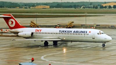 TC-JBK - McDonnell Douglas DC-9-32 - Turkish Airlines
