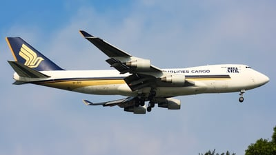 9V-SFD - Boeing 747-412F(SCD) - Singapore Airlines Cargo
