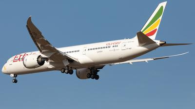 A picture of ETAUP - Boeing 7879 Dreamliner - Ethiopian Airlines - © Dongone Seo-Korea Aero Photos