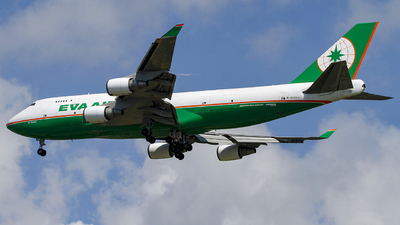 B-16402 - Boeing 747-45E(BDSF) - Eva Air Cargo