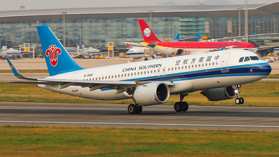 A picture of B30AK - Airbus A320251N - China Southern Airlines - © Patrick-ZHOU