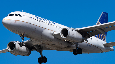 A picture of N834UA - Airbus A319131 - United Airlines - © Haocheng Fang